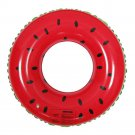 Adult Fruit Swimming Ring Life Buoy PVC Inflatable