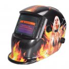 Welding Shield Helmet for Ultimate Protection & Seductive Graphic Designs on it