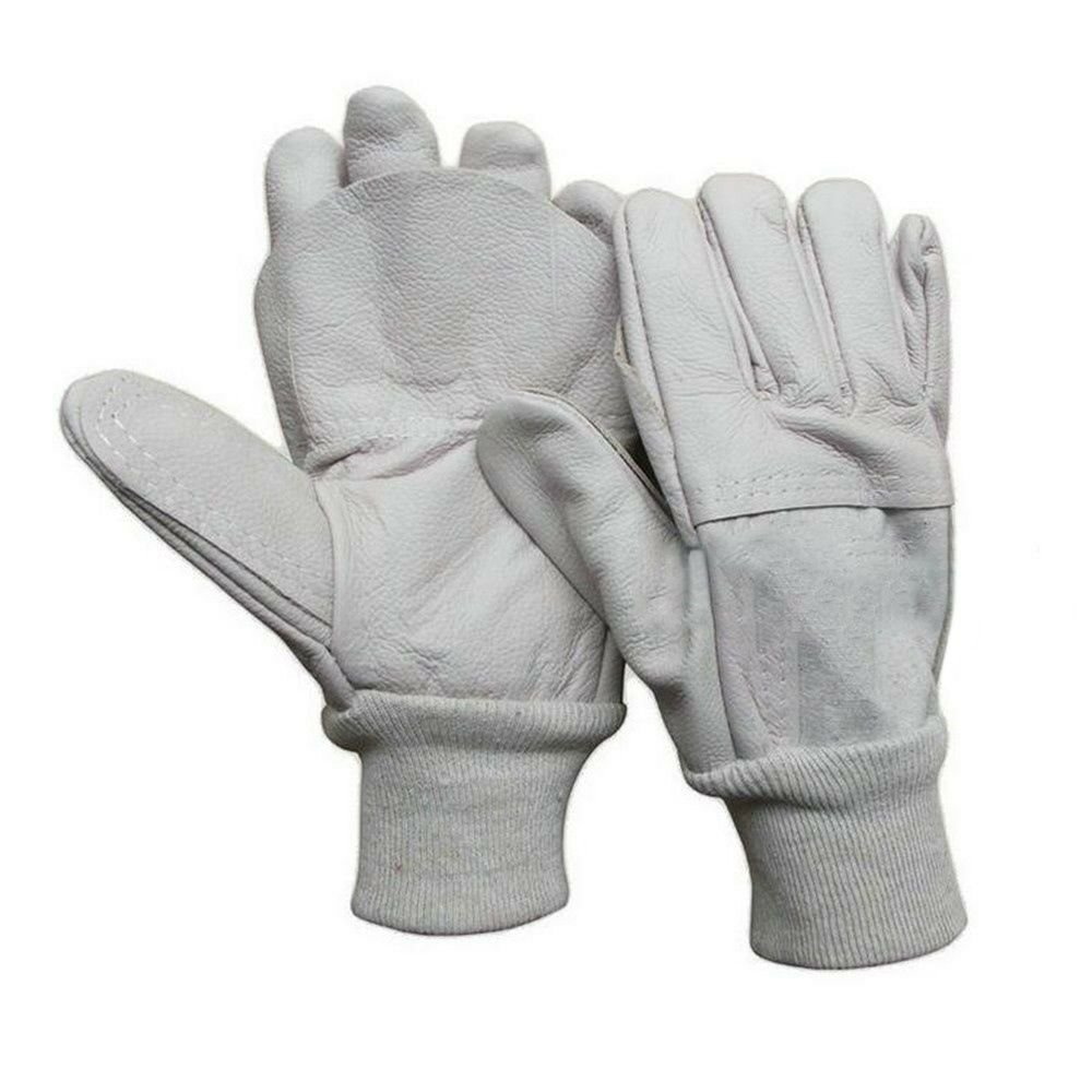 one pair Mig Welding WELDERS Work Cowhide Leather Gloves 26cm
