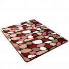 Carpet Coral Fleece Non-slip Door Mat   03  40*60cm