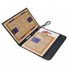Three Folds Foldable Referee Tactics Kit Coaching Board Basketball Sport