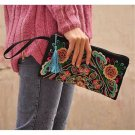 Fashioanble National Style Handbag Vintage Woman Embroidery Small Bag Coin Case