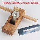 Woodworking Flat Plane Wood Hand Planer Carpenter Woodcraft  Tools 400mm