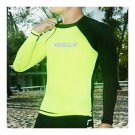 Diving Suit Wetsuit Fishing Close-fitting Surfing   black+fluorescent green