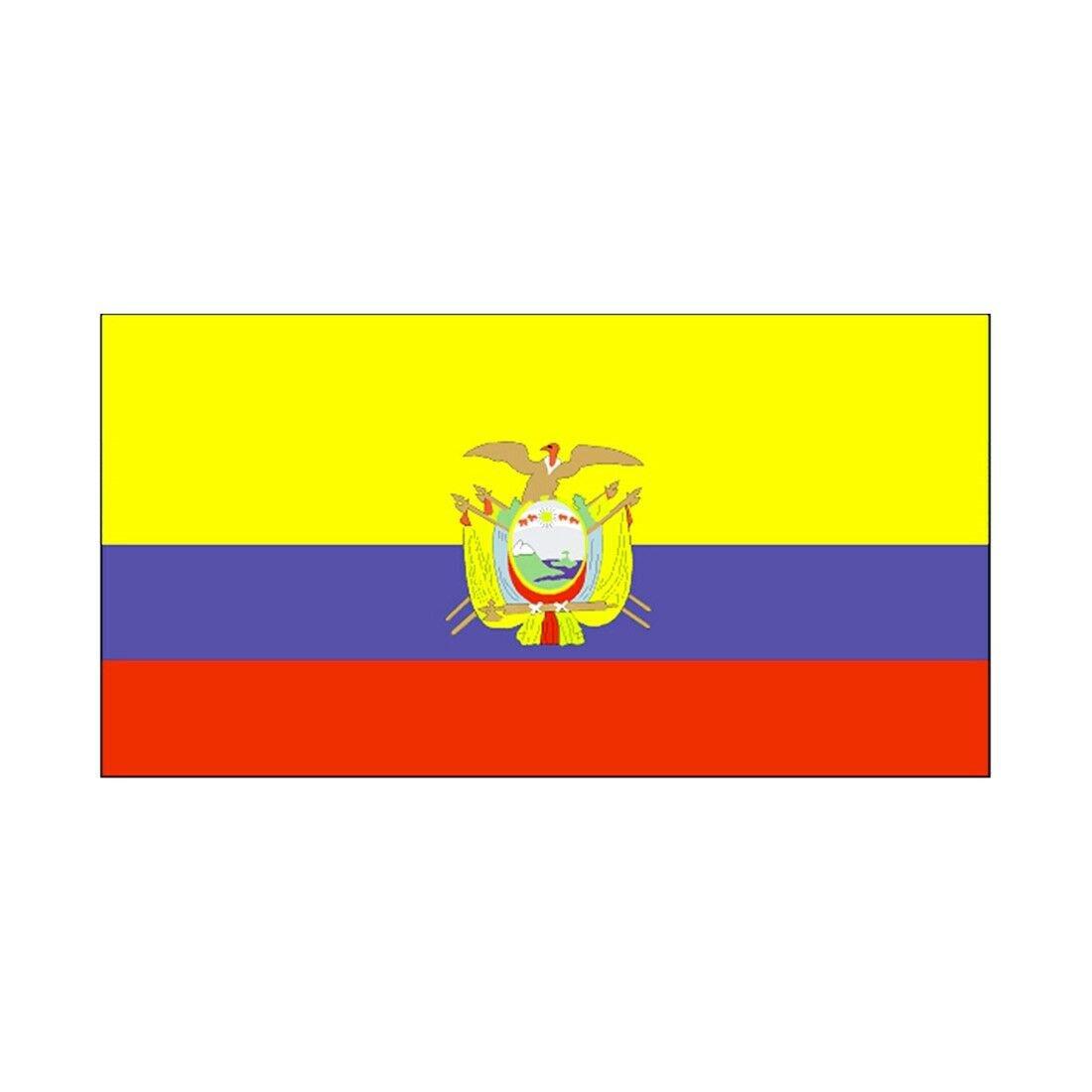 90 * 150 cm flag Various countries in the world Polyester banner flag   Ecuador