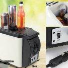 Mini Fridge 6L Cooler Warmer Boat Car Refrigerator