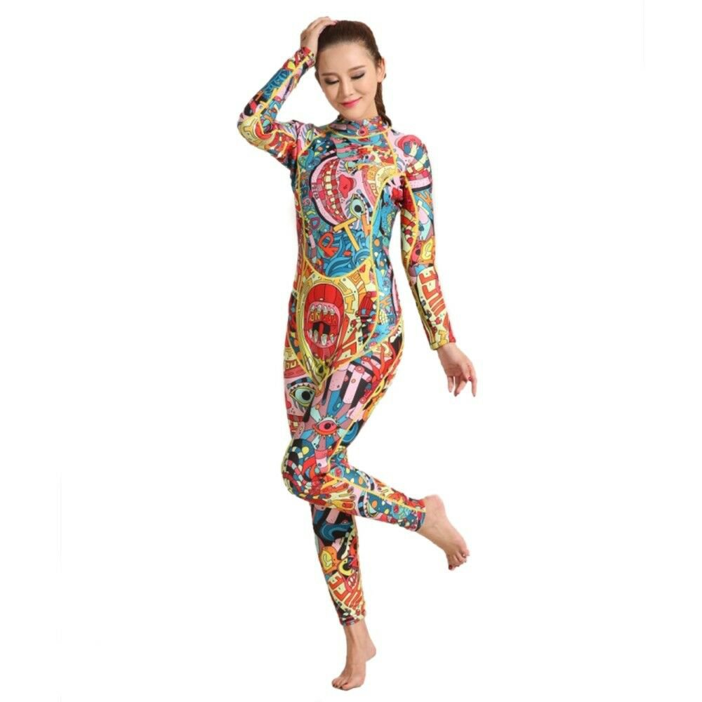 M001 One-piece Surfing Diving Suit Wetsuit   XS