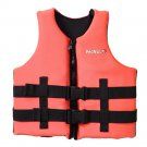L006 L007 L008 L012 Child Life Jacket Surfing Fishing Drifting Vest   orange   S