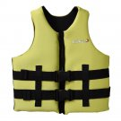 L006 L007 L008 L012 Child Life Jacket Surfing Fishing Drifting Vest   yellow  S