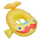 Inflatable Cartoon Children Water Taxis Toy Swim Ring with Handle