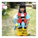 Bathrobe Child Cartoon Bath Beach Towel Long cape with hoody