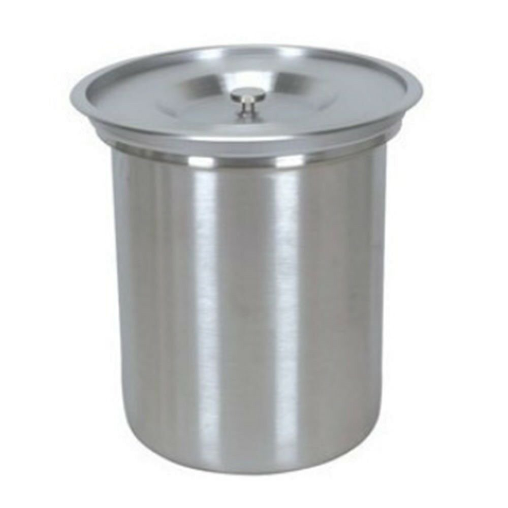 8L Stainless Steel Table Waste Bin Kitchen Embedded Bin