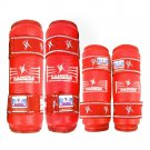 Taekwondo Protective Gear Elbow and Leg Guard red S