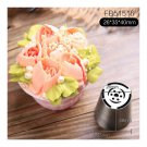 Stainless Steel Russian Pastry Nozzles , Russian flowers  FB51516