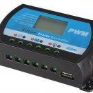 12V 24V SOLAR CHARGE CONTROLLER 30A with 5V USB Port
