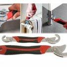 2pcs Snap'N Grip Adjustable Wrench Set 9-32mm Multi-function Universal Spanner