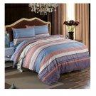 Bed Quilt Duvet Sheet Cover 4PC Set Upscale Cotton 100% 006