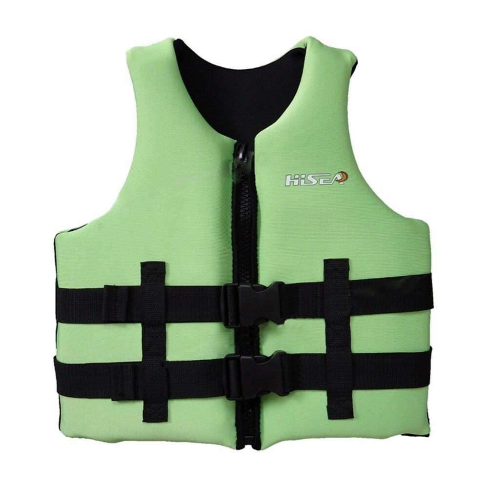 L006 L007 L008 L012 Child Life Jacket Surfing Fishing Drifting Vest   green   S