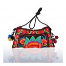 Embroidery Bag Yunnan National Chinese Style Embroidery Featured Messenger Bag F
