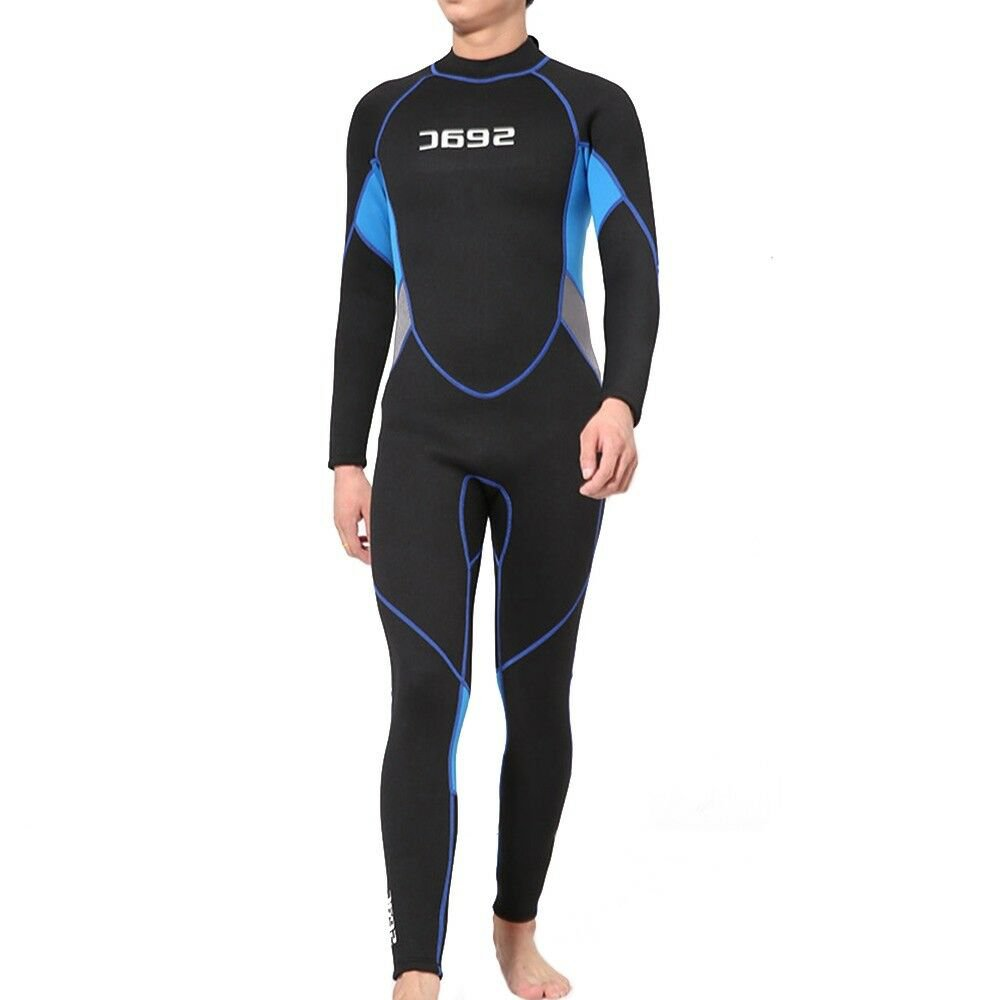 M011 Thick 3mm One-piece Diving Suit Wetsuit Surfing    XS