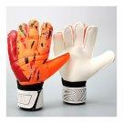 Child Teenager Goalkeeper Gloves Roll Finger   orange   S
