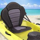 Adjustable Padded  Kayak Seat with Straps & Brass Snap Hooks