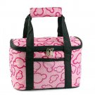 Kitchen Waterproof Lunch Bag Thick large size 29*19*18cm Pink