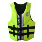 L004 L010 L011 Life Jacket Surfing Fishing Drifting Vest   green   S