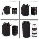 4-in-1 DSLR Lens Pouch Thick Neoprene Bag