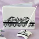 ​Wedding Guest Book and Pen Ceramic Cover
