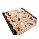 Cartoon Cute Ground Non-slip Mat Carpet  130*185cm