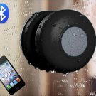 Blueboost Water Resistant Bluetooth Shower Speaker Handsfree Black