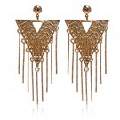 Earrings 18K Gold Galvanized Zircon Accessory