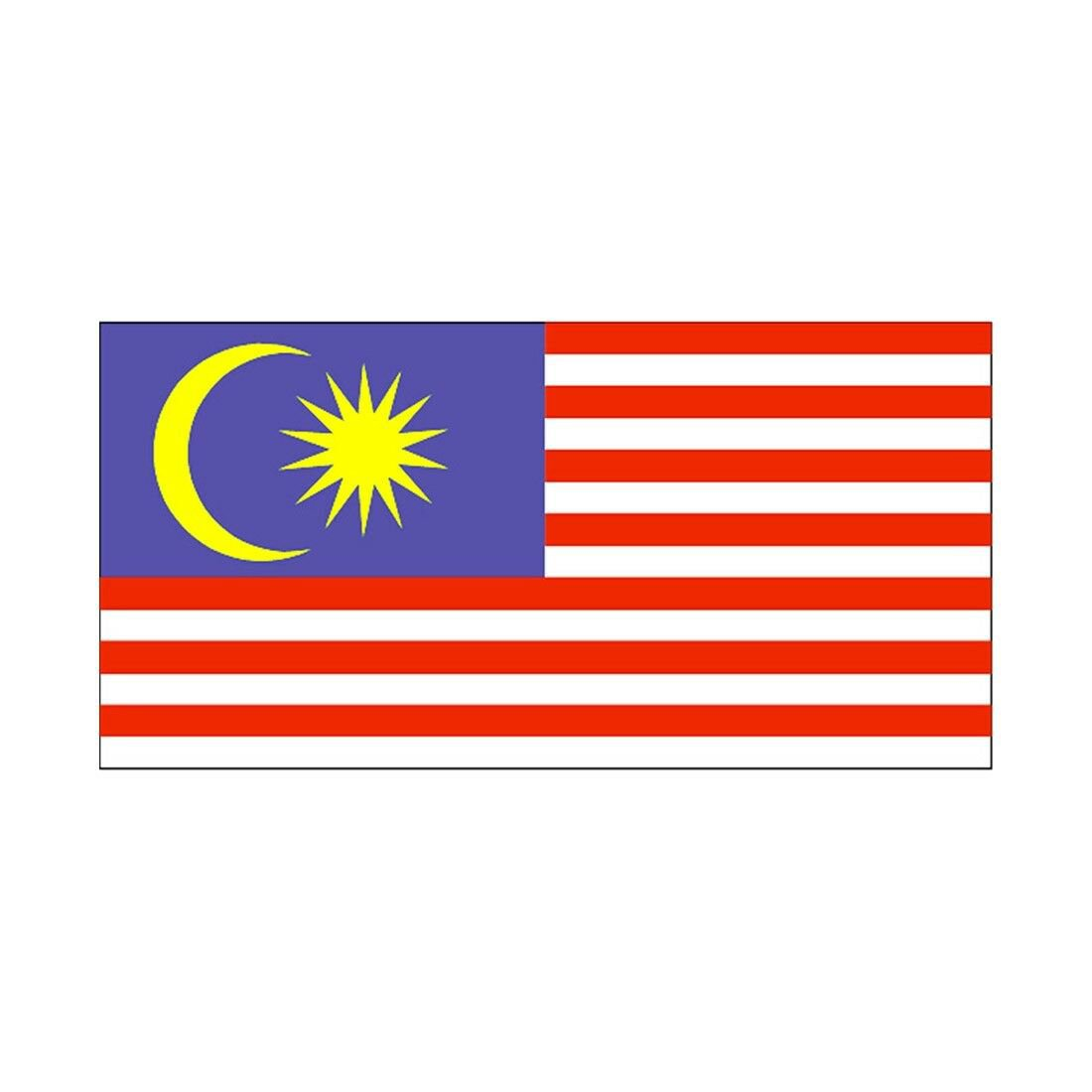 160 * 240 cm flag Various countries in the world Polyester banner flag    Malays