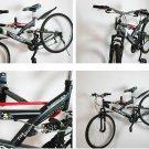 Bicycle Wall Mount Rack Hanger Storage Bike Mount Hanger Hook Holder with Screws