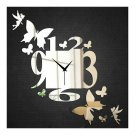 Wall Clock Wedding Room Living Room Silent Fairy and Butterfly