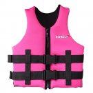 L006 L007 L008 L012 Child Life Jacket Surfing Fishing Drifting Vest   pink   S