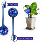 4pcs  Aqua Plant Glass Watering Globes Watering Ball