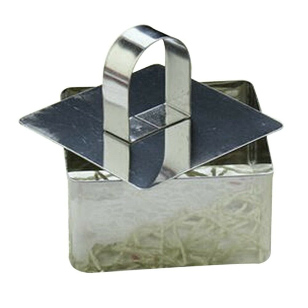 Stainless Steel Mousse Cake Mould Baking Tool with Cake Mat square kitchen