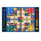 Super Big Aeroplane Chess Game Ground Mat Carpet