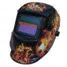 Darkening Welding Helmet having Designer Graphics & Vibrant Color Shading