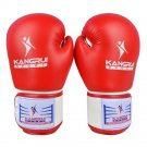 High-end Tournament Gloves Boxing Training red