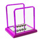Colorful Plastic Square Newton's Cradle Home Tableware   middle  purple