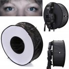 "45cm/18"" Ring Flash Diffuser Softbox for Macro and Portrait Photography"