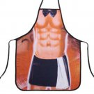 Muscle Man Manservant Apron Creative Party Sexy Gift