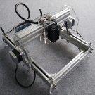 2500 mW Desktop DIY Laser Engraver Engraving Machine CNC Printer Size A5