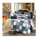 Bed Quilt Duvet Sheet Cover 4PC Set Upscale Cotton 100% 003