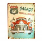 Europe Vintage Iron Car Plate Wall Hanging Decoration    T17