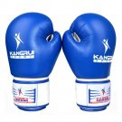 High-end Tournament Gloves Boxing Training blue