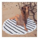 Bohemia Round Tassel Knitted Beach Towel Lantern Towel   a2